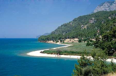 Türkei Strand, Akyaka