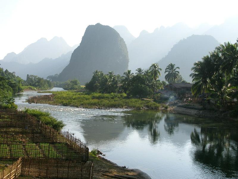 Laos Landschaft