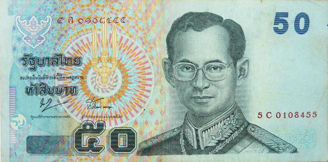 Thailand Geld Baht