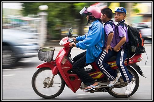 Thailand Motorrad, Moped