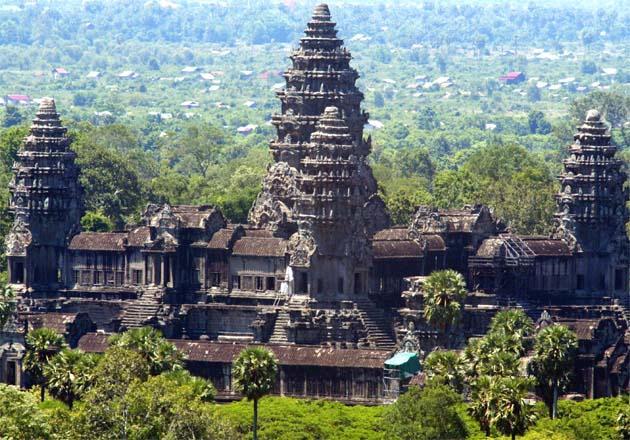 Angkor Wat Karte.Kambodscha Reiseführer Reisetipps Tourismus