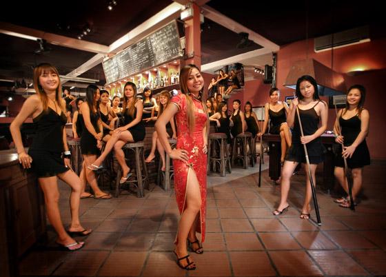 Kambodscha Nachtleben, Nightlife, Party, Girls