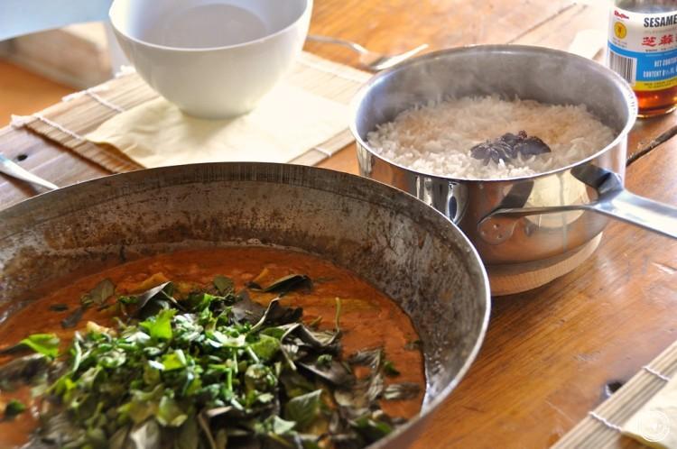 Kambodschanische Küche: Curry