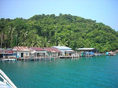 Koh Kong Insel Kambodscha
