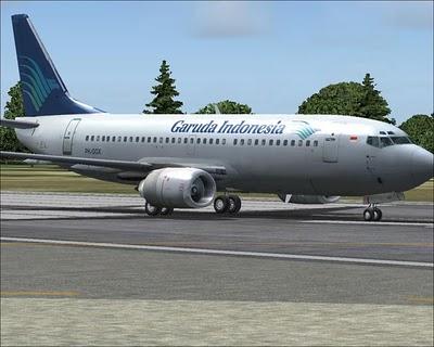 Indonesia Airlines: Ein Flugzeug der Garuda Indonesia