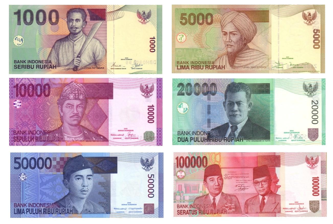 Indonesien Geld: Rupiah
