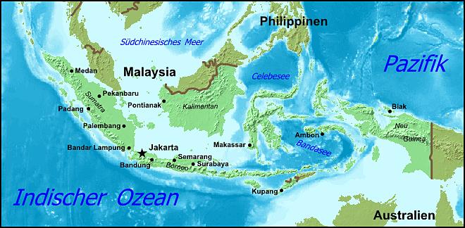 Indonesien Städte