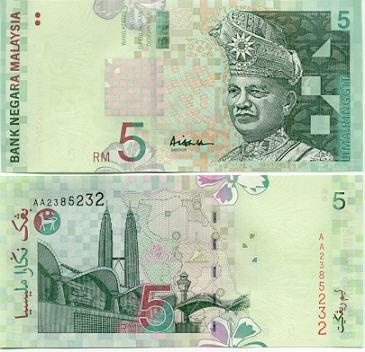 Malaysia Geld, Ringgit