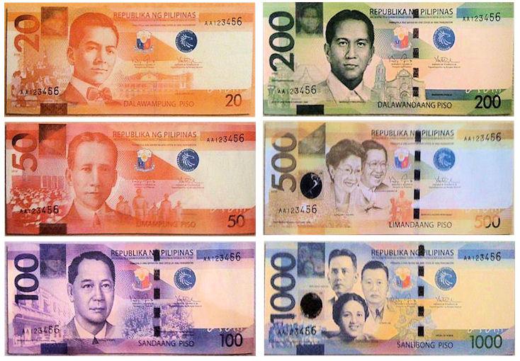 Philippinen Geld, Pesos
