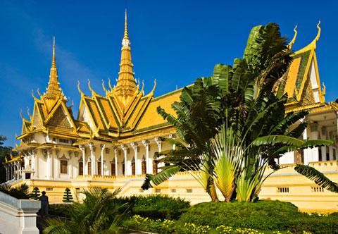 Phnom Penh Königspalast