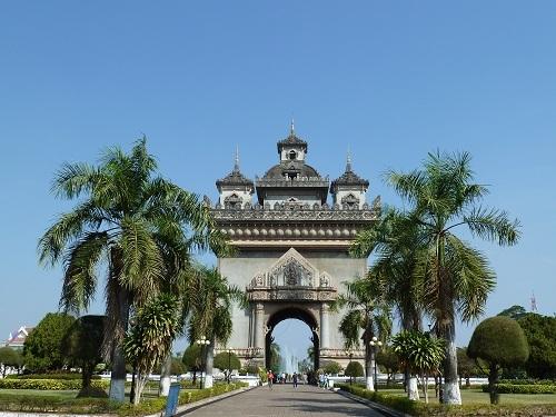 Patou Xai, Laos, Vientiane