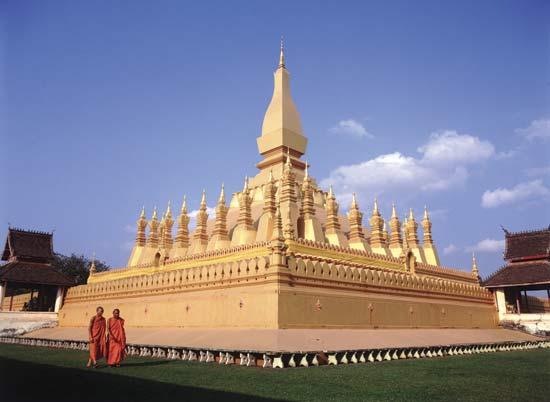 Pha That Luang Tempel Vientiane
