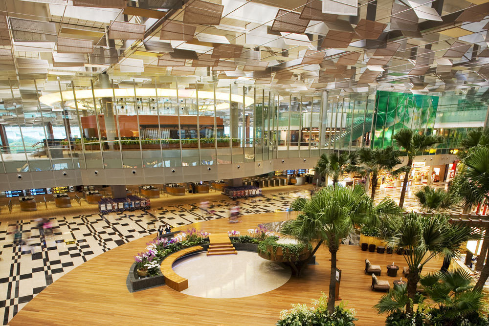 ankunft singapur airport