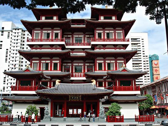 Singapur Chinatown Tempel