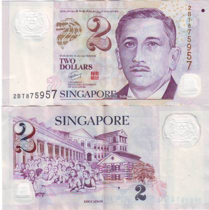 Geld in Singapur: Der Singapore Dollar