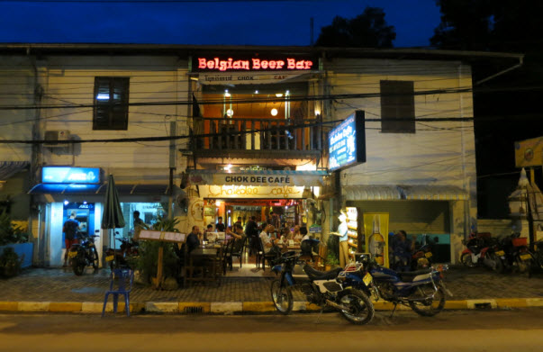 Vientiane Nightlife Mekong Riverfront