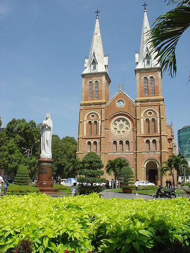 Notre Dame Cathedral Ho-Chi-Minh-Stadt
