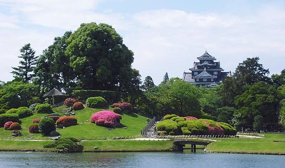 Okayama Castle und Korakuen