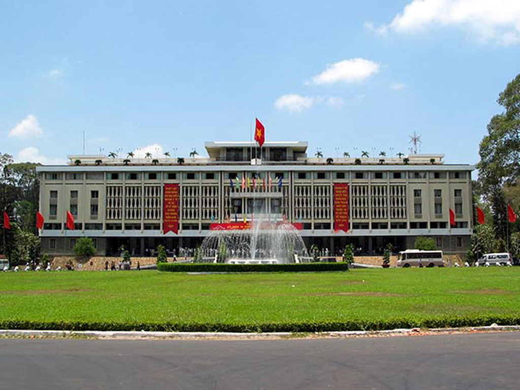 Reunification Palace in Ho Chi Minh City