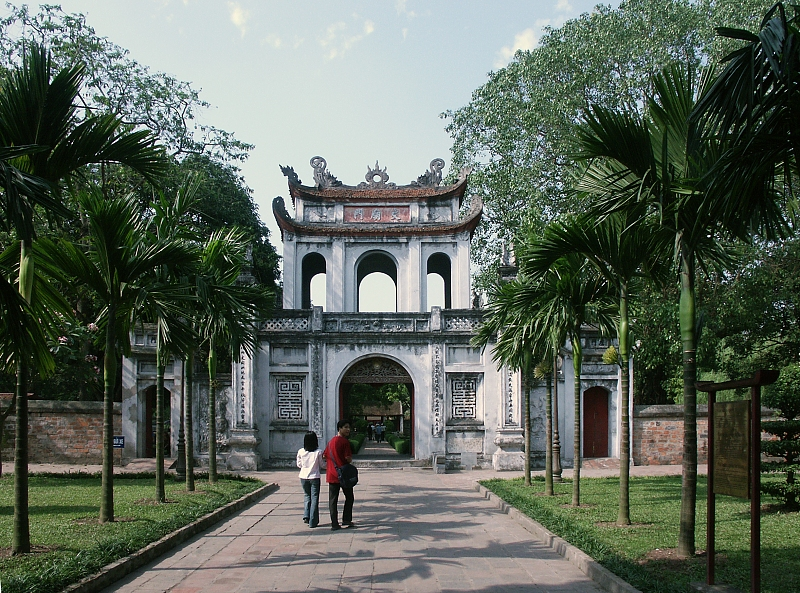 Temple of Literature in Hanoi (Tempel der Literatur)