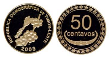 50 Centavos aus Timor Leste