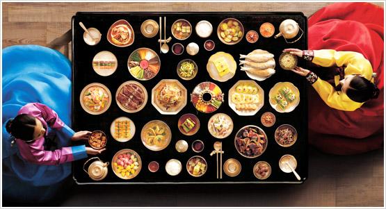 Koreanisches Essen