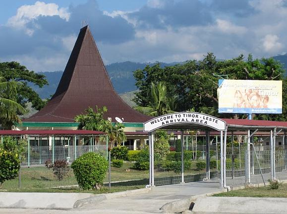 Timor Leste: Der Airport in Dili.