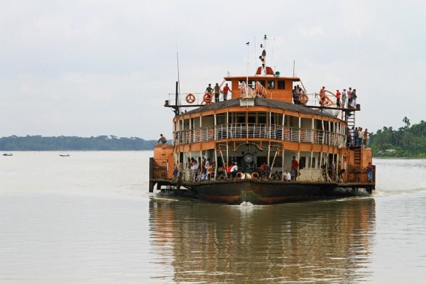 Bangladesh Rocket Steamer Boat