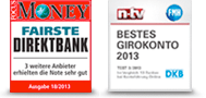 DKB: Fairste Bank und Bestes Girokonto.
