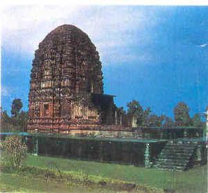 Der Sirpur Tempel nahe Raipur.