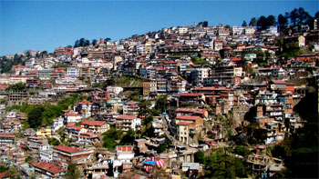 Shimla, Indien