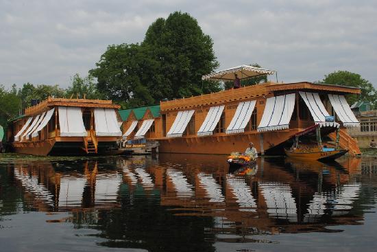 Hausboot auf dem Dal-See, Srinagar