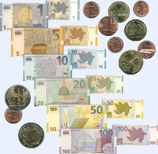 Aserbaidschan Geld Manat