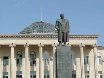 Gori Stalin Denkmal Statue