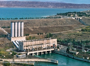 Mingachevir Dam