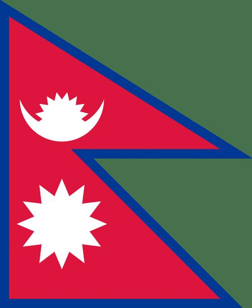 Nepal Flagge