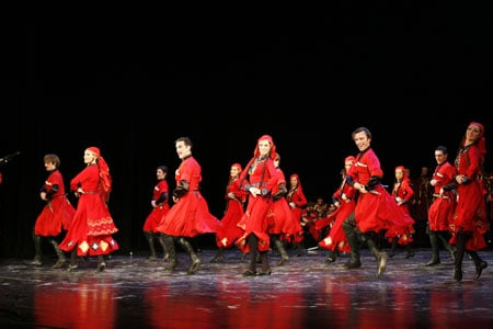 Rustawi Georgien Tanz