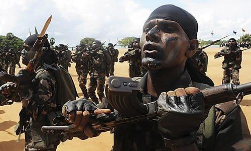 Sri Lanka Bürgerkrieg Soldaten