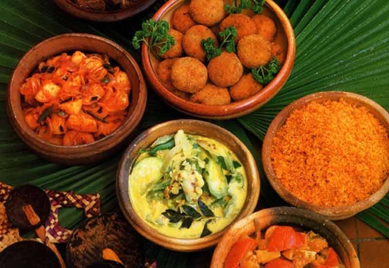 Sri Lanka Essen, Küche