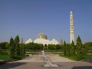 Muscat Sehenswürdigkeiten: Sultan Qaboos Moschee