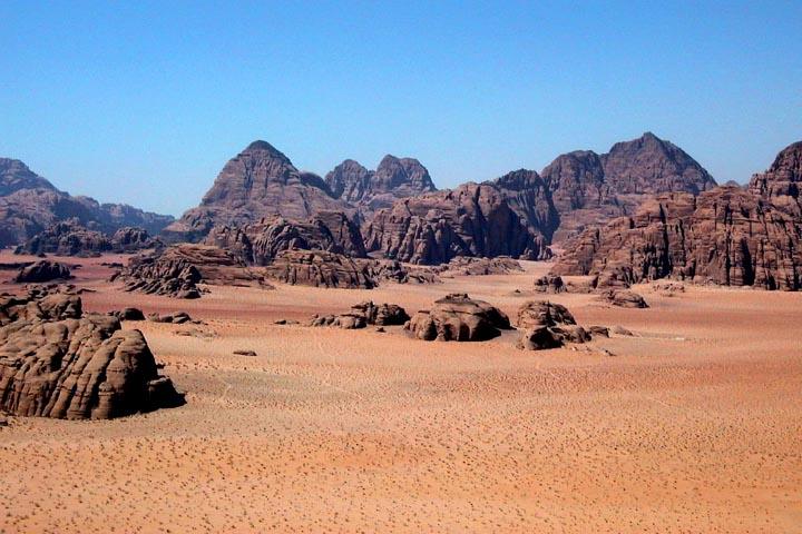 Wadi Rum Jordanien Discovery Trekking