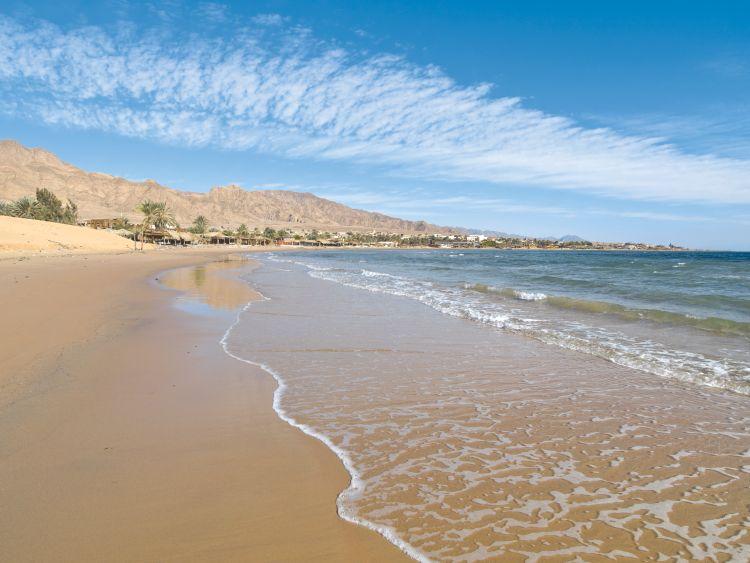 Aqaba Jordanien Strand