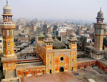 Lahore Pakistan Moschee