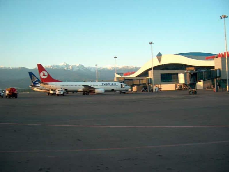 Almaty Airport, Flughafen Kasachstan