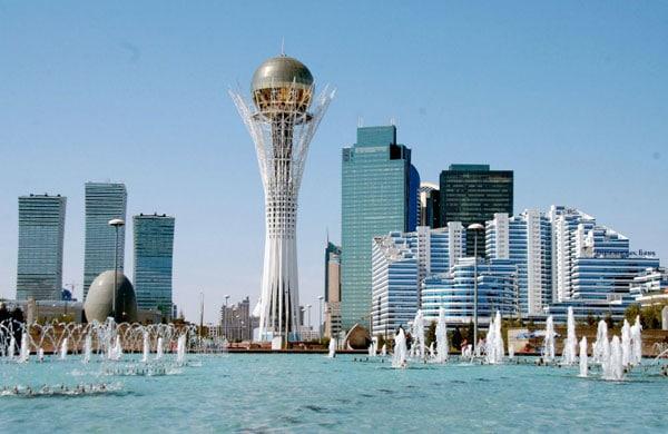 Astana Kasachstan Baiterek Tower