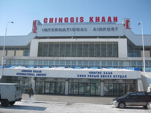 Chinggis Khaan International Airport, Ulan Bator Flughafen