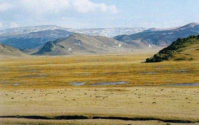 Khan Khentii, Ost Mongolei