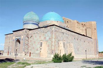 Khoja Ahmed Yasawi Mausoleum, Türkistan, Kasachstan