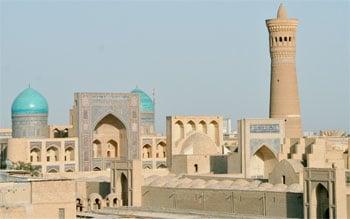 Buchara Usbekistan Sehenswürdigkeiten