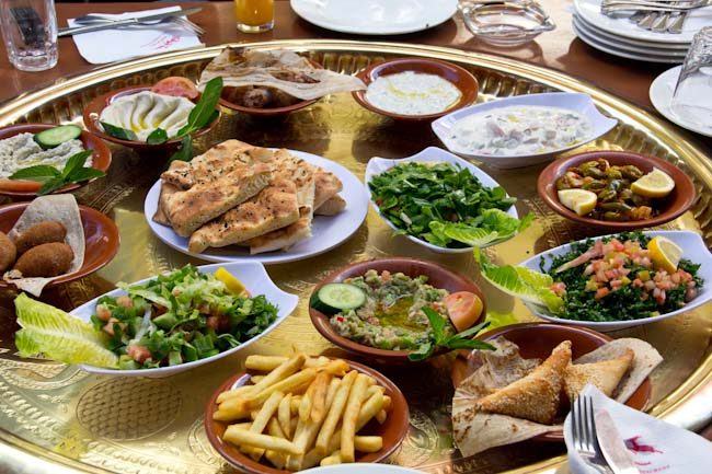 Essen in Jordanien, jordanische Küche